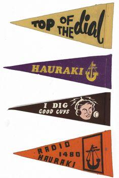 Radio Hauraki pennants