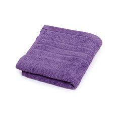 Wilko Face Cloths Violet 2 pack