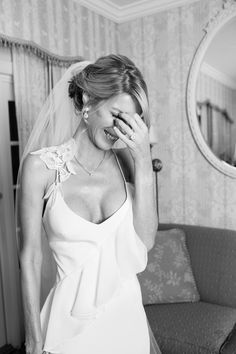 Jewish Wedding Bride Reaction {Lotus Eyes Photography} - mazelmoments.com