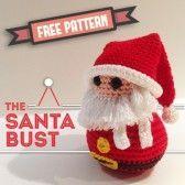 free pattern the santa bust