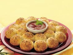 Beautiful on a buffet, these golden biscuits have pepperoni and cheese inside! Prepare this savory sensation in only 20 minutes.