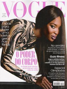 Naomi Campbell by David Bailey Vogue Brazil July 2008 Vogue Covers, Vogue Magazine Covers, Fashion Magazine Cover, David Bailey, High Fashion Photography, Glamour Photography, Lifestyle Photography, Editorial Photography, Jane Birkin