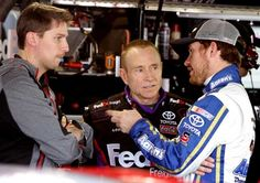 Brian Vickers talks about the opportunities this season racing for Joe Gibbs Racing and Michael Waltrip Racing. (Jerry Markland/Getty Images)