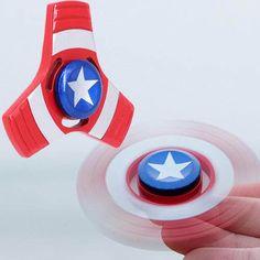 Spinner Superbohater Kapitan Ameryka
