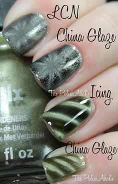 Magnetic nail polish I have the china glaze on my nails love it :-)