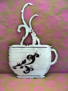 Hey, I found this really awesome Etsy listing at https://www.etsy.com/listing/257498124/laser-cut-metal-coffee-cup-kitchen-wall