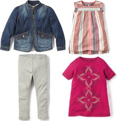 Back-to-school for girls!  Love these mix & match pieces! @teacollection available at @nest