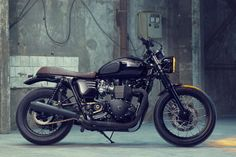 Custom Triumph Bonneville T100 by Bunker
