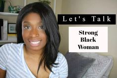 What does it mean when one says you are a strong black women? Why so specific? Black Women, Strong, Youtube, Youtubers, Youtube Movies, Dark Skinned Women