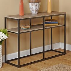 Simple Living Piazza Sofa Table   Overstock.com Shopping - The Best Deals on Coffee, Sofa & End Tables