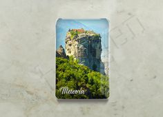 Traveller - Greece Collection - Fridge Magnets Meteora Series; Epoxy Fridge Magnets Detail Page. #backhome #fridgemagnets #magnets #traveldiaries #lovelylife #gifts #giftshop #photoholder #magnet #giftingideas #giftingsolutions #quirkygoods #meteora #greece