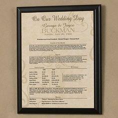 Day In History Facts Personalized Wedding Anniversary Plaque, http://www.amazon.com/dp/B0028T04WU/ref=cm_sw_r_pi_awdm_u.SDtb08TXDD1