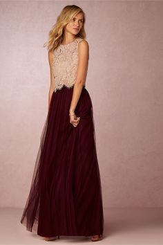 Louise Tulle Skirt in New at BHLDN
