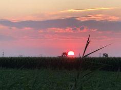 Prachtige zonsondergang by Rina