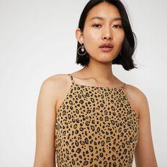 8f544092ce6 Leopard tiered maxi dress en 2019