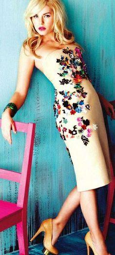 Elisha Cuthbert in Flare Fashion Inspiration Style Lingerie Clothing Design #UNIQUE_WOMENS_FASHION