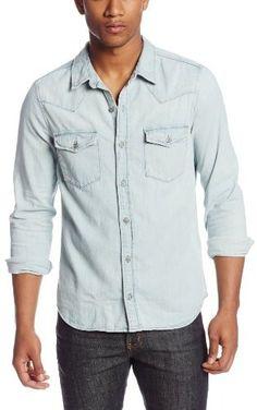 58b34aaf018b AG Adriano Goldschmied Men s Brando Long Sleeve Button Down Shirt on  shopstyle.com