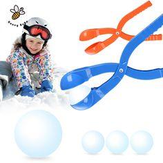 1 Pc Hiver Boule De Neige Maker Moule En Sable Outil Sculpter Boules De Neige Léger Compact Boule De Neige Lutte Sport En Plein Air Outil Jouet Sport