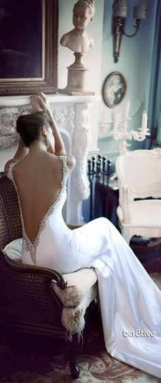If I ever..get married again, I would love to be in good enough shape to wear a beautiful dress like this