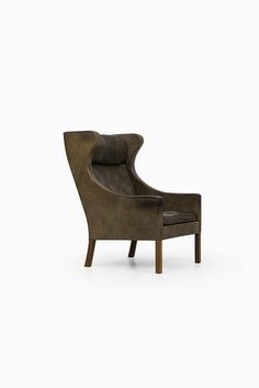 Børge Mogensen wingback chair by Fredericia at Studio Schalling