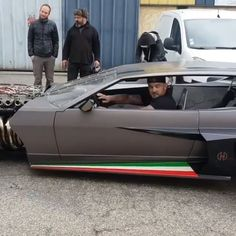 """A basic meaning of a sports automobile is """"a little low vehicle with a high-powered engine, and generally seats two individuals"""". Luxury Sports Cars, Top Luxury Cars, Cool Sports Cars, Sport Cars, Custom Muscle Cars, Custom Cars, Lamborghini Cars, Ferrari, Street Racing Cars"""