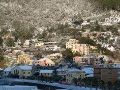 Bonassola with snow