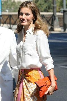 Princess Letizia of Spain Charismatic Fashionista