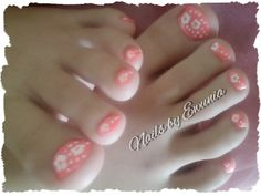 Summer nail art for my daughter:)  Marketing for Nail Technicians  http://www.nailtechsuccess.com/nail-technicians-secrets/?hop=megairmone