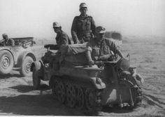 The Sonderanhänger (Special Trailer) or Sd. Ah 1 trailer was designed primary to be towed by the German Sd. Kfz. 2 Kettenkrad. DAK Engineer