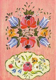 Album Archive - Bauermalerei - Motivos e Riscos para Pintura Tole Painting, Artist Painting, Texas Quilt, Rosemaling Pattern, Painted Rocks, Hand Painted, German Folk, Painting Templates, Scandinavian Folk Art