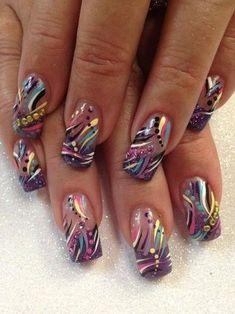 awesome by – Nail Art Gallery nailartgallery.na… by Nails Magazine www… awesome by – Nail Art Gallery nailartgallery. Fabulous Nails, Gorgeous Nails, Pretty Nails, Nail Art Designs, Acrylic Nail Designs, Halloween Nail Art, Hot Nails, Acrylic Nail Art, Fancy Nails