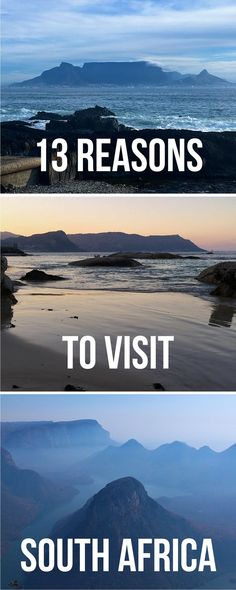 13 Great reasons to visit South Africa   Reasons why you should visit South Africa   South Africa #southafrica #traveltips
