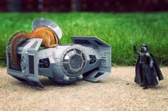 Squirrel taking over Darth Vader's ship