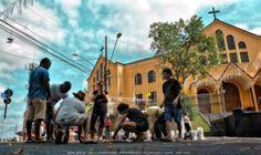 https://flic.kr/p/SKXVLx | Bom Jesus BH . Artexpreso 10 | Praça de Bom Jesus & Santuario . Semana Santa . Belo Horizonte, Abr 2017 . Artexpreso . Jl Rodriguez Udias . Fotografia / *Photochrome ArtWork . Sorrisos do Brasil #artexpreso #SantuarioBomJesus #SouBH Website:  rodudias.wix.com/artexpreso