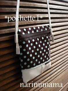 *ポシェット1*の作り方|ソーイング|編み物・手芸・ソーイング(印刷用)| 手芸レシピ16,000件!みんなで作る手芸やハンドメイド作品、雑貨の作り方ポータル「アトリエ」