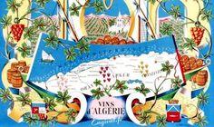 Remy Hetreau - Algerian wine map
