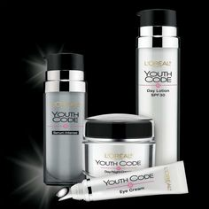 L'Oreal Face Products Youth Code This is really nice - more on Skin Care at www.roacutane.org