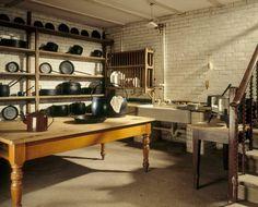Cragside House scullery