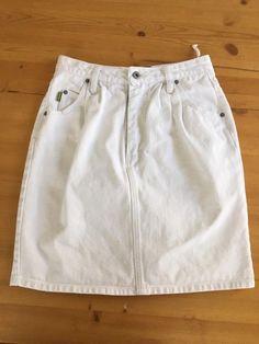 White Denim Skirt, White Jeans, White Shorts, Skirt Pants, Jean Skirt, Short Skirts, Short Dresses, Casual Shorts, Clothes