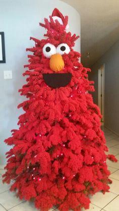 Elmo Christmas tree
