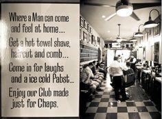 more ideas | barbershop ideas | Pinterest | Barbershop, Barber ...