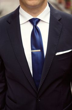 Royal Blue tie w/ Black Suit | Wedding ideas | Pinterest | Royal ...