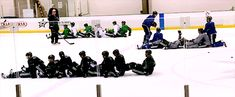 Dallas Stars teamwork drill. I don't know what they're doing but I want in