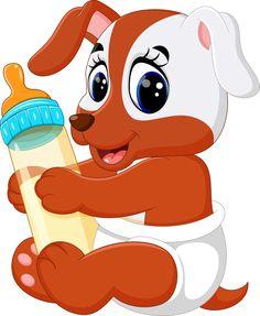 Cartoon Monkey, Baby Cartoon, Cute Cartoon, Clipart Baby, Cute Animal Clipart, Cute Clipart, Cute Dog Pictures, Cute Images, Cartoon Kunst