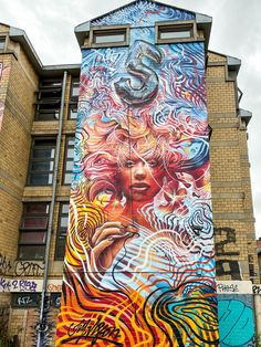 Explore edgy, political and colorful street art in Shoreditch London. Find graffiti and murals on Brick Lane and take a street art tour of the East End. Get a map of Shoreditch London street art. Tour Around The World, Around The Worlds, London Street, London Art, Brick Lane, Chalk Art, Urban Art, Cool Pictures, Graffiti