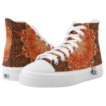 Himalayan Salt Lamp KM High-Top Sneakers High Top Shoes Step out of the box in a pair of unique custom sneakers! Each pair of custom High Top ZIPZ® shoes is designed so you can change your style as often as you'd like to match any mood, occasion, or outfit. A fresh look at sneakers, ZIPZ® shoes give you a one-of-a-kind way to express yourself! #sneakers #hightopsneakers #zipz #kaleidoscope #mandala #abstract #geometric #pattern #reiki #nature  Unisex sizing: 4-13 Men's | 6-15 Women's