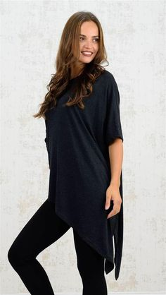 Λοξή μπλούζα | Χειμερινή Collection 2016 | Potre Tunic Tops, Collection, Women, Fashion, Moda, Women's, Fasion