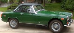 1972 MG Midget.   Wouldn't it be awesome to drive one of these?