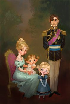Familia de frozen