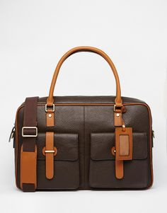 Smith and Canova Leather Holdall